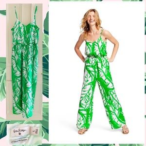 ❤️🍃 Palm Frond Romper Lilly Pulitzer Target Large